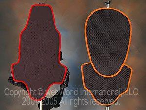 TPro Forcefield vs. Bohn Back Protector, lining