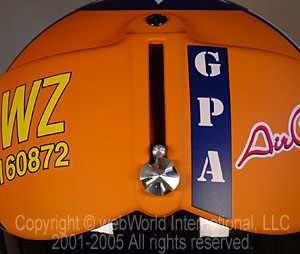 "GPA Helmets - the ""Aircraft"" visor lowering system"
