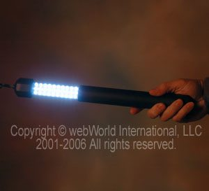 "LED Cordless Worklight - In ""On"" position"