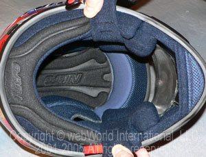 Nitro Helmets - N1200-VX helmet liner