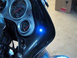 After LED installed