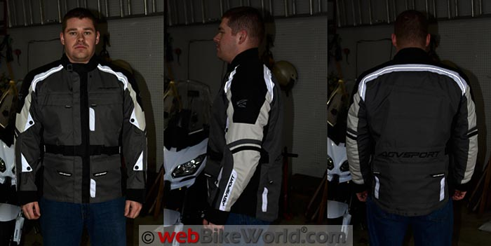 AGV Sport Torino Jacket Reflectivity.