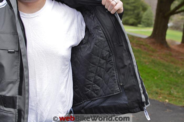 AGV Sport Torino Jacket Removable Insulating Liner