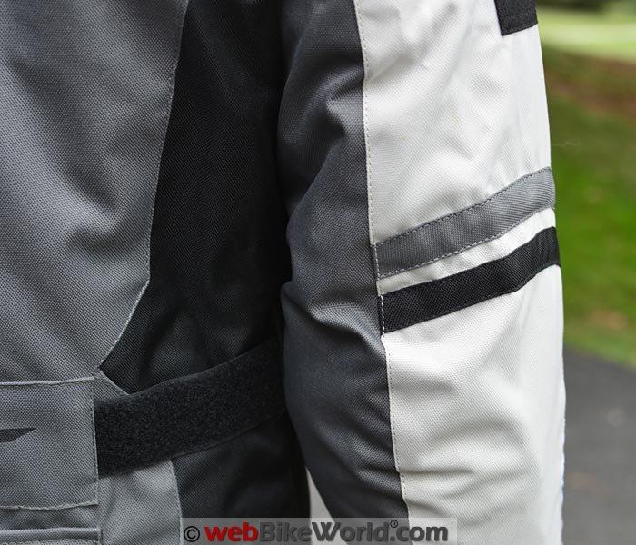 AGV Sport Torino Jacket Stitching Close-up.