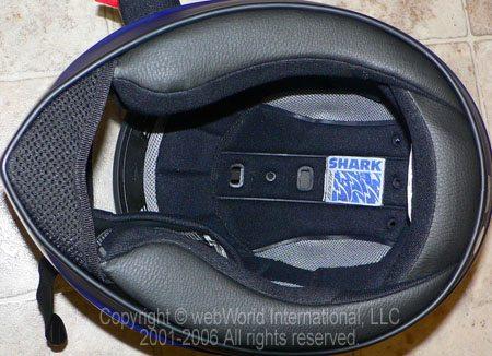 Shark RSI Helmet Liner