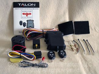 Parts for the Talon Motorcycle Alarm System