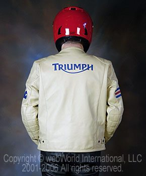 Triumph Romero Jacket - Rear View