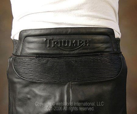 Triumph Classic Jeans II - Rear View