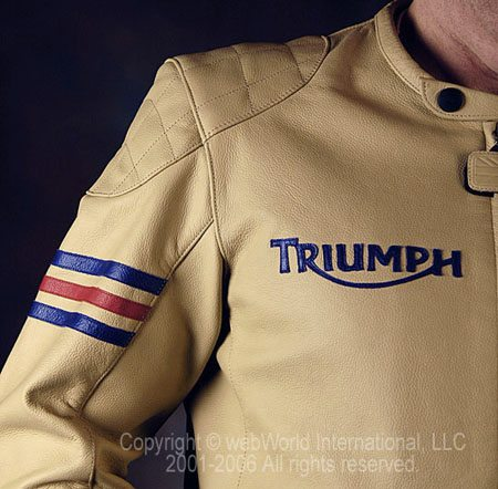 Triumph Romero Jacket - Shoulder Detail