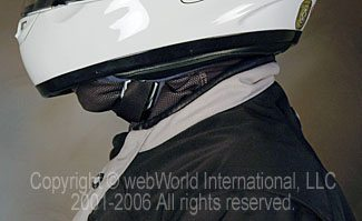 Windproof Neck Warmer under helmet