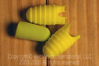 E-A-R E-A-Rsoft Grippers Disposable Ear Plugs