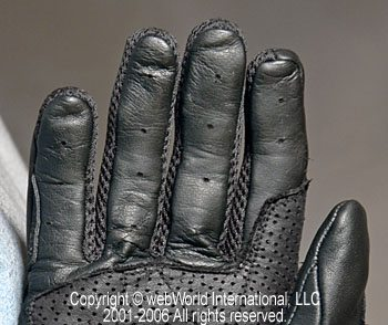 New Version of the REV'IT! Solar Mesh Gloves Fingertips