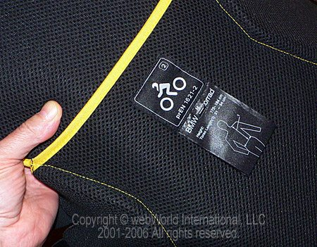 Back Protector Fabric