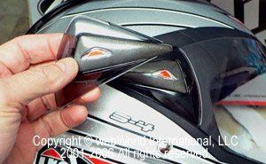 Airoh S4 Helmet - Side Plate Conversion Parts