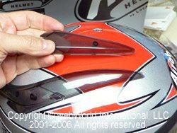 Airoh S4 - Top Strake Conversion Parts