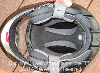 Vega Summit II Helmet Liner