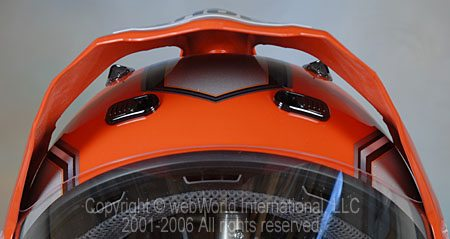 Shoei Hornet - Top Vents and Visor