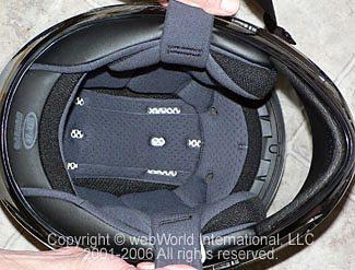 HJC AC-12 Carbon Fiber Helmet - Liner