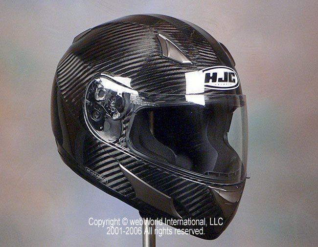 HJC AC-12 Carbon Fiber Motorcycle Helmet