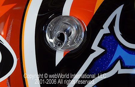 Suomy Vandal - Suomy Superbike Front Vent Detail