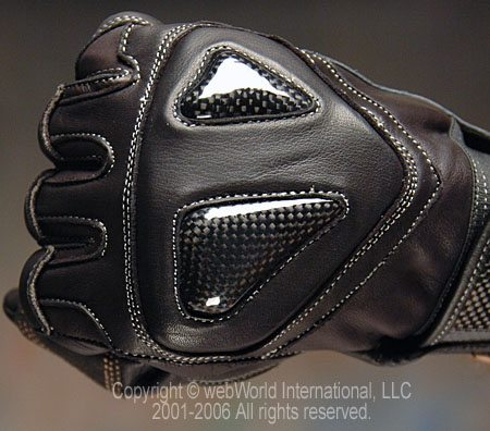 Velocity Gloves S1 - Back