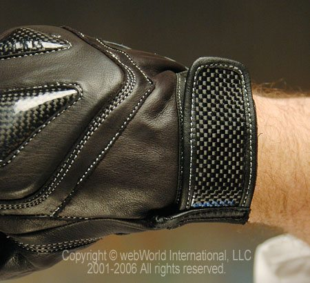 Velocity Gear S1 Gloves - Wrist Strap
