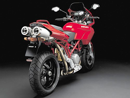 Ducati Multistrada 1100 - Rear View