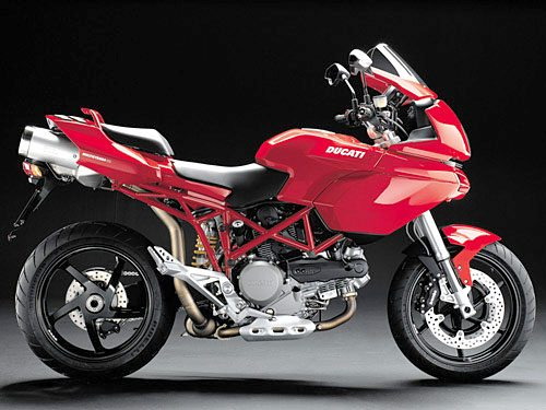 Ducati Multistrada 1100 - Right Side
