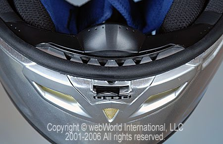 KBC VR-2 Mirage Helmet - Chin Vent