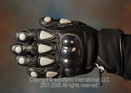 Komodo Mesh Gloves - Top View
