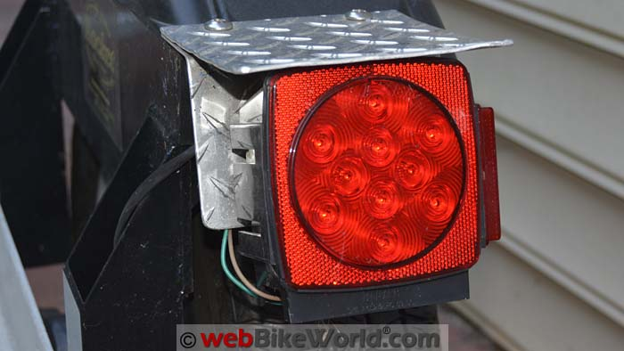 Blazer LED Trailer Tail Light Close-up
