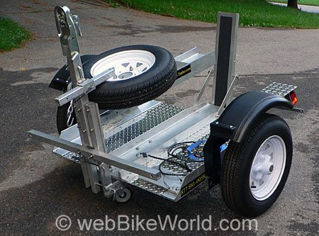 Rocket Folding Motorcycle Trailer