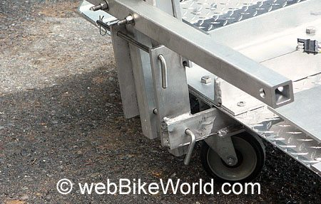 Front Wheel and Fold-Down Arm