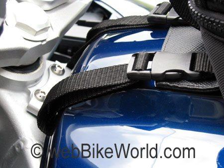 Tank bag front mount