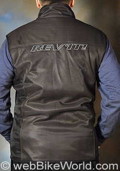Rev'it Scoop Windblocker Windproof Vest - Rear
