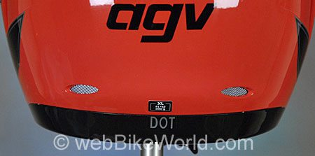 AGV Miglia - Rear Exhaust Vents
