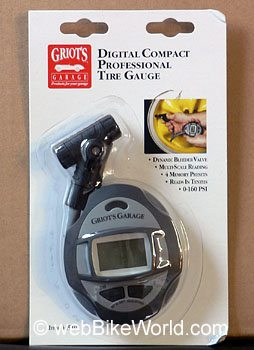 Griot's Garage Compact Professional Tire Gauge