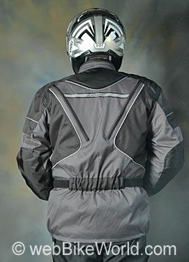 Roadgear Tierra del Fuego Jacket - Rear View