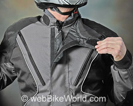 Roadgear Tierra del Fuego Jacket - Neck Adjustment and Zipper