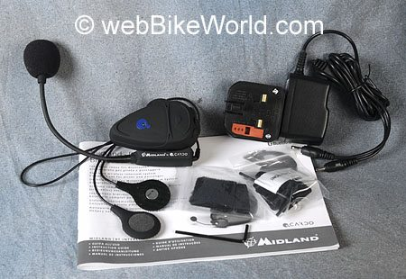Scala Rider - Albrecht - Midland - Alan Bluetooth Intercom System
