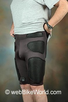 TPro Forcefield Motorcycle Armor - Shorts