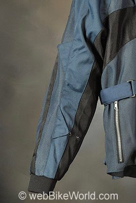 Teknic Sprint Jacket - Sleeve Adjusters