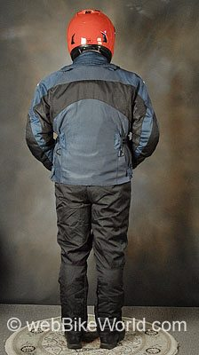 Teknic Sprint II Pants and Sprint Jacket - Rear View, Mesh Jacket