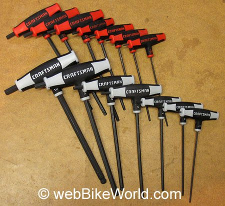 Allen Wrench T Handle Wrench Set