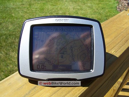 Garmin c330 - Screen washout in sunshine