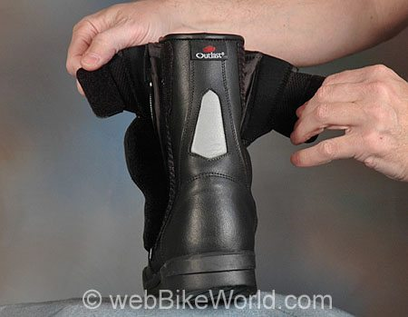 Roadgear TDF Boots - Rear View