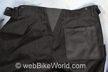 Roadgear Tierra del Fuego Pants - Rear Waist