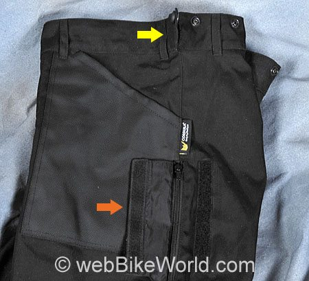 Roadgear Tierra del Fuego Pants - Side View