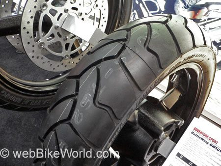 Bridgestone BW-502 BattleWing Rear Tire