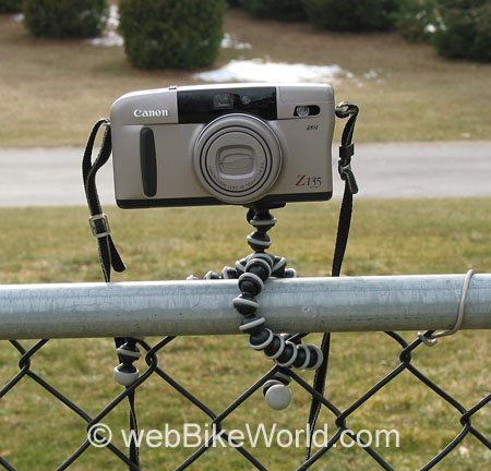 Gorilla Pod on Fence
